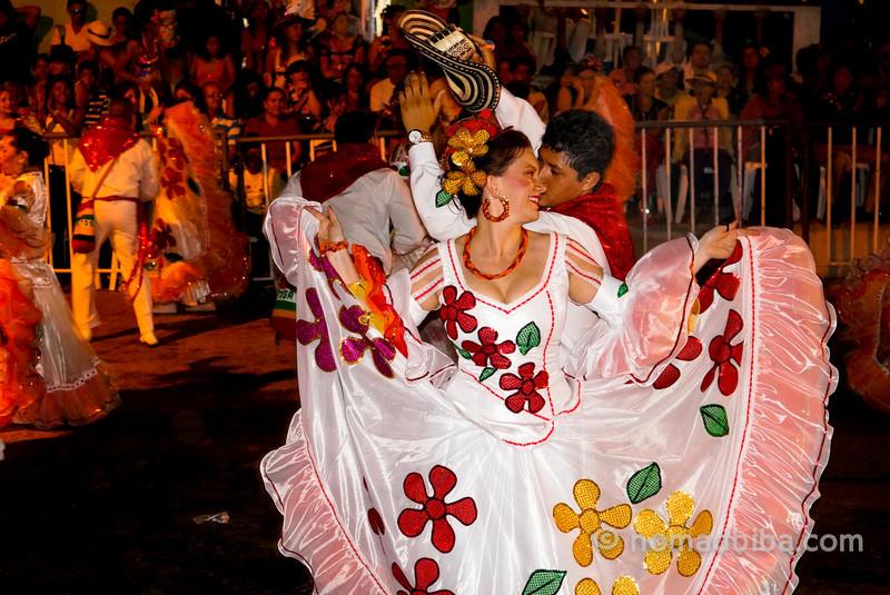 Dancing at La Guacherna 2013, Barranquilla (Colombia)