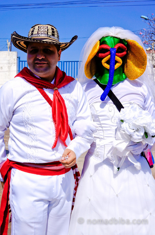 Marimonda Bride at Batalla de Flores 2013