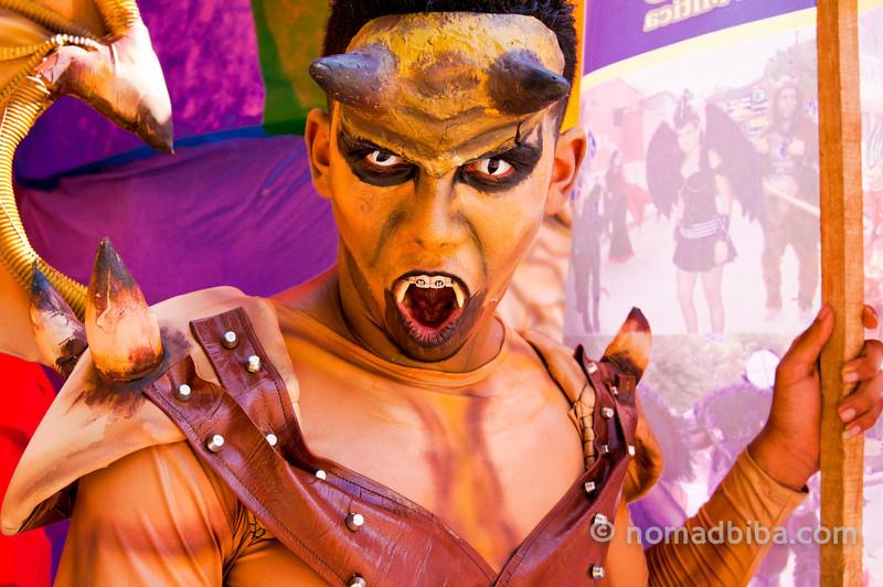 Devil at Batalla de Flores 2013
