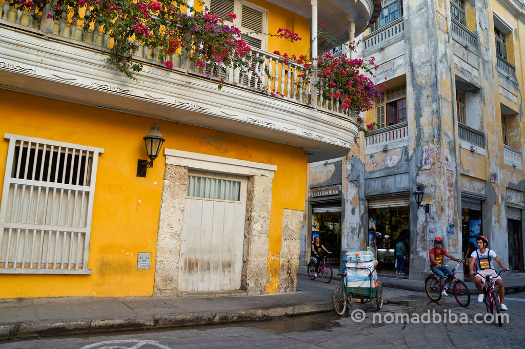 Cycling in Cartagena, Colombia
