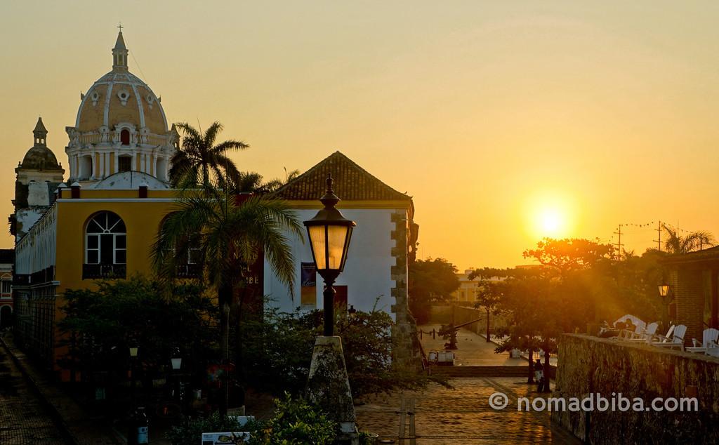 Sunrise over Cartagena (Colombia)
