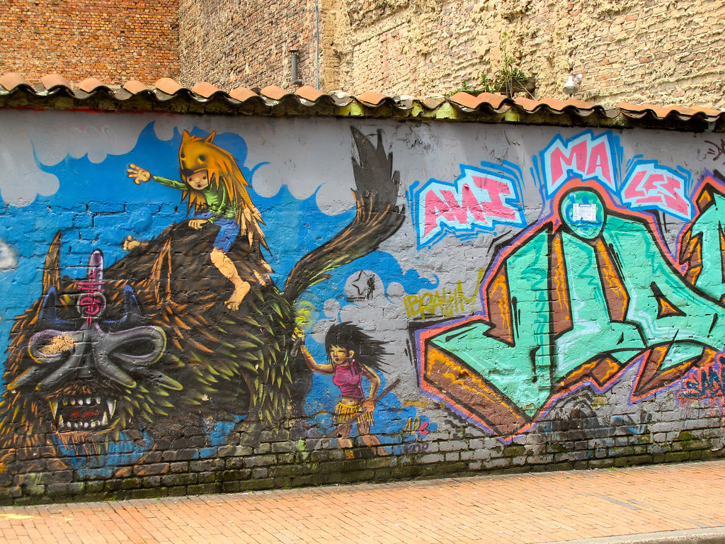 "For the more, check out my post: <a href=""http://www.nomadbiba.com/wp/2012/04/bogota-street-art-ii/"">Bogotá – Street Art II</a>F"
