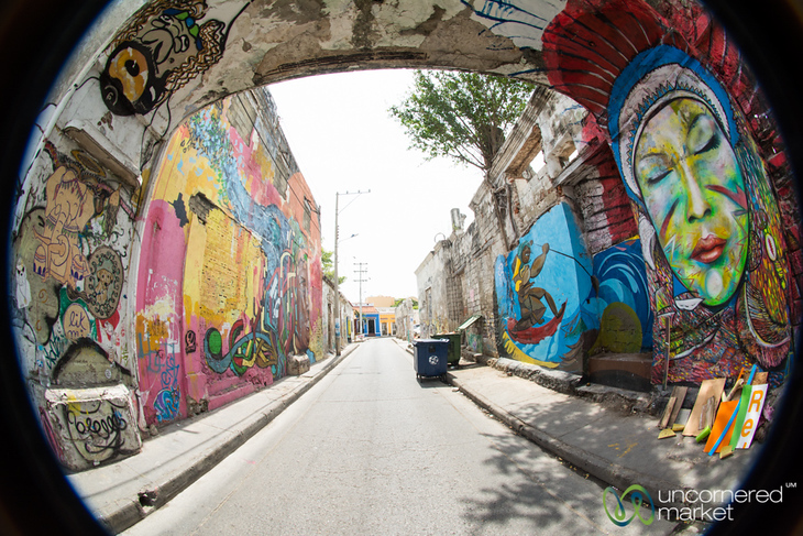 Getsemani's Street Art Scene - Cartagena, Colombia