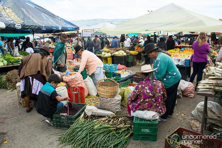 Saturday Market in Villa de Leyva - Colombia