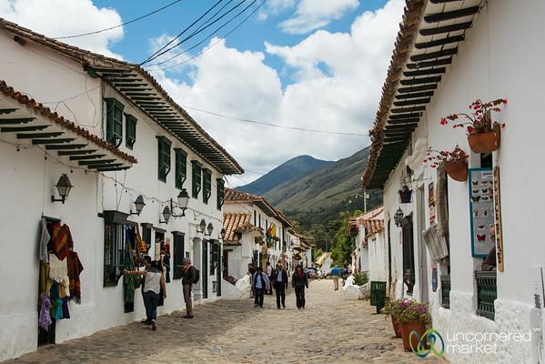 Villa de Leyva Streets, Colombia