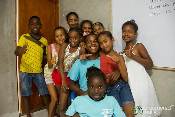 Alex Rocha Foundation and His Students - Barrio San Francisco, Cartagena, Colombia