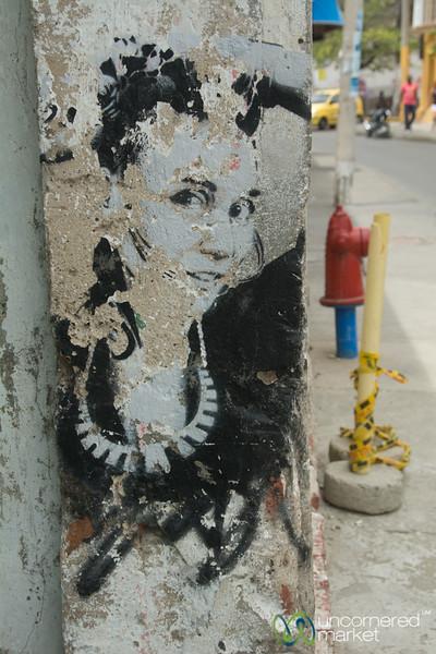 Getsemani Street Art - Cartagena, Colombia