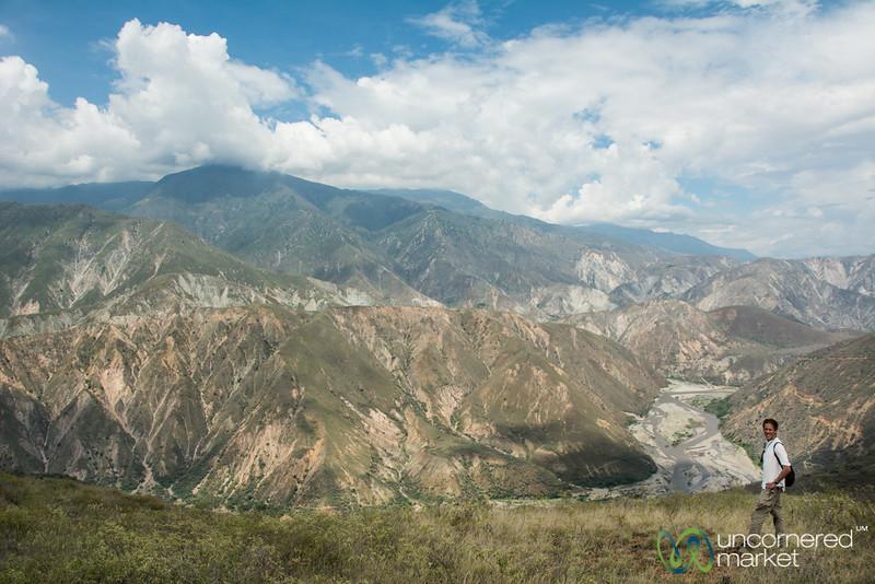 Dan in Chicamocha Canyon, Colombia