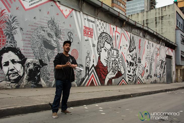 Bogota Graffiti Tour - Colombia