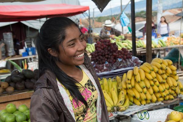 Smiles at Villa de Leyva Market - Colombia