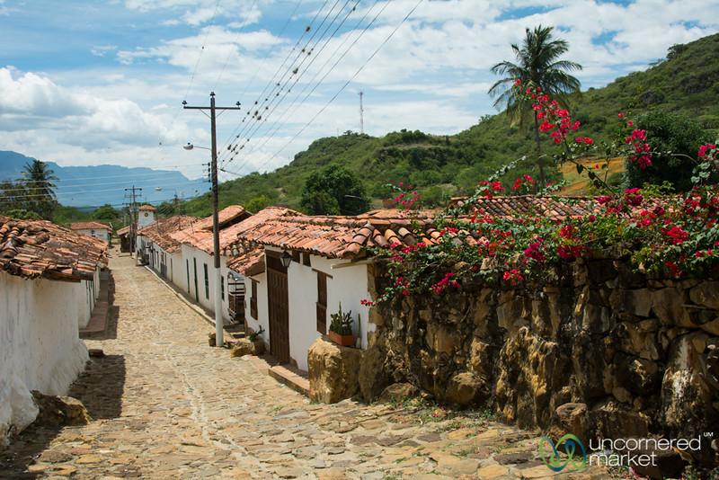 Guane Streetscene - Santander, Colombia