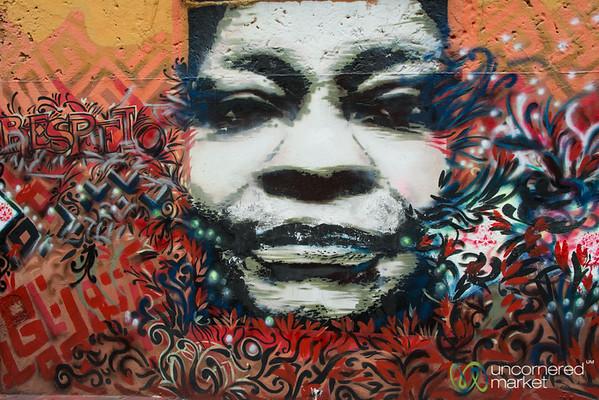 Street Art in Candelaria, Bogota - Colombia
