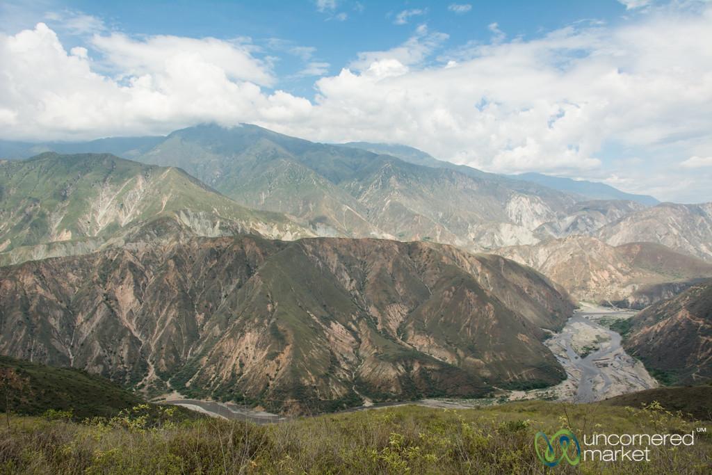 Chicamocha Canyon, Colombia