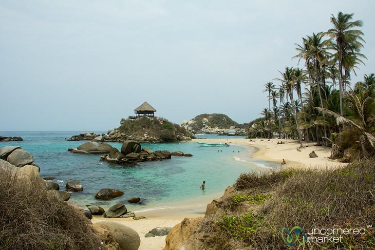 Tayrona National Park Beach - Cabo San Juan, Colombia