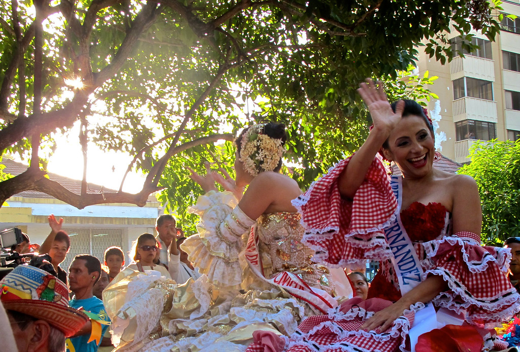 """Barranquilla's Carnival Queen for 1987 For the story, check out my post: <a href=""""http://www.nomadbiba.com/wp/2012/01/an-early-start-to-barranquillas-carnival-celebrations/""""> An Early Start To Barranquilla's Carnival Celebrations</a>"""