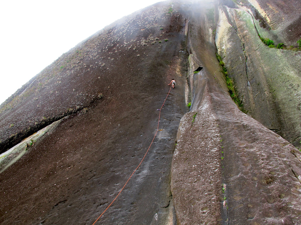 "Rock climbing at El Peñol For the story, check out my post: <a href=""http://www.nomadbiba.com/wp/2011/07/el-penol-climbing-a-monolith/"">El Peñol – Climbing A Monolith</a>"