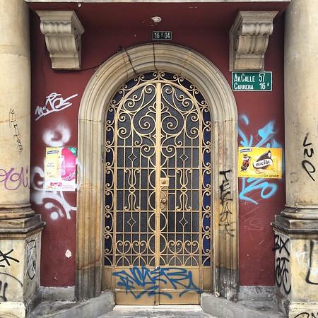 Bogota Doorway - Colombia