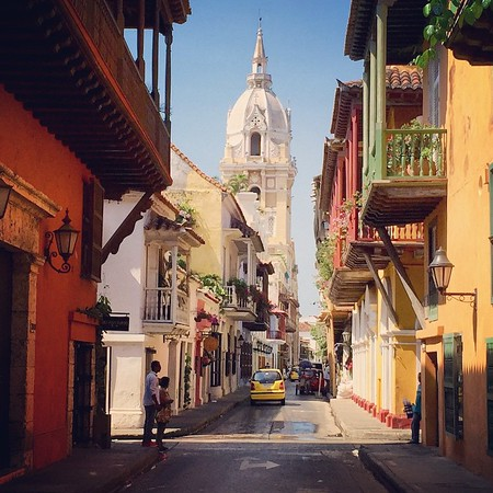 Old Town Cartagena - Colombia