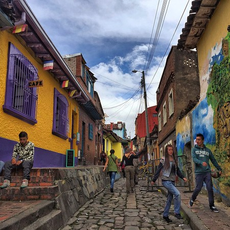 Bogota - Candelaria Neighborhood.