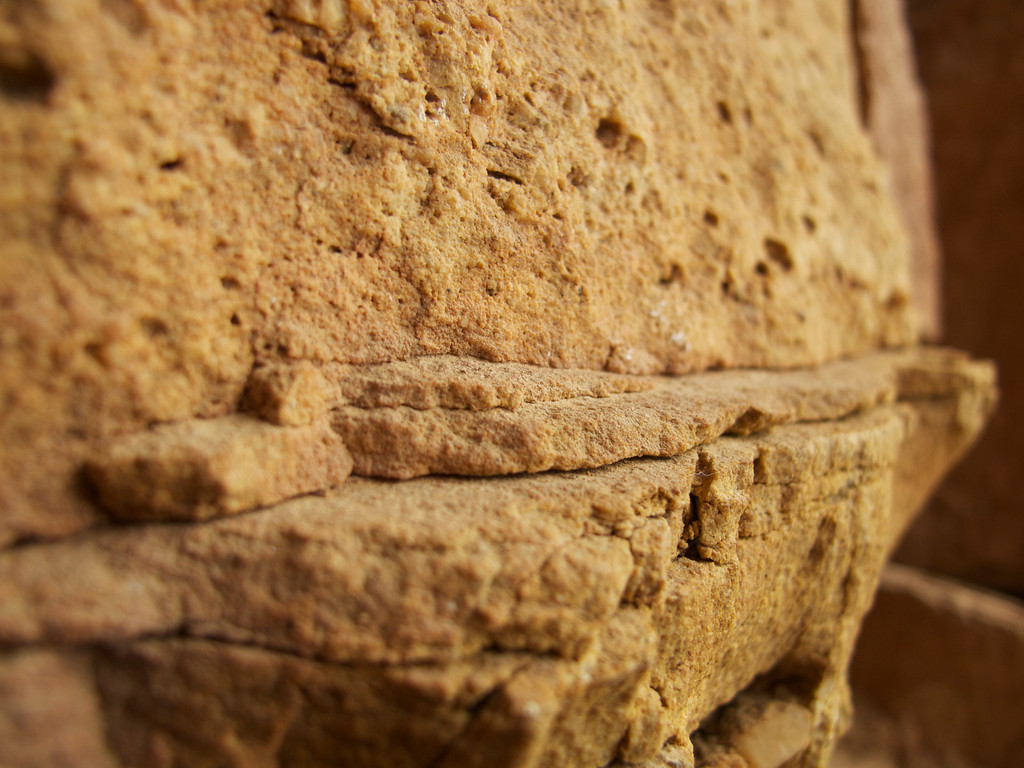 "The beautiful reddish sandstone of La Mojarra For the story check out my post: <a href=""http://www.nomadbiba.com/wp/2011/09/la-mojarra-the-sun-shines-in-paradise/""> La Mojarra – The Sun Shines In Paradise</a>"