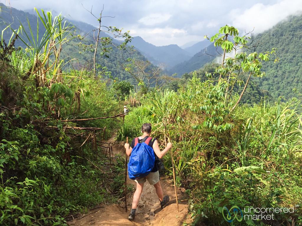 Navigating the Mud, Lost City Trek