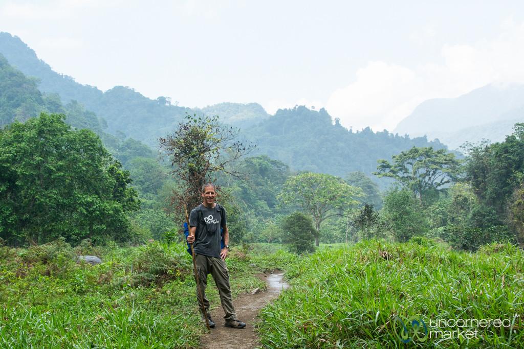 Dan on Lost City Trek, Colombia