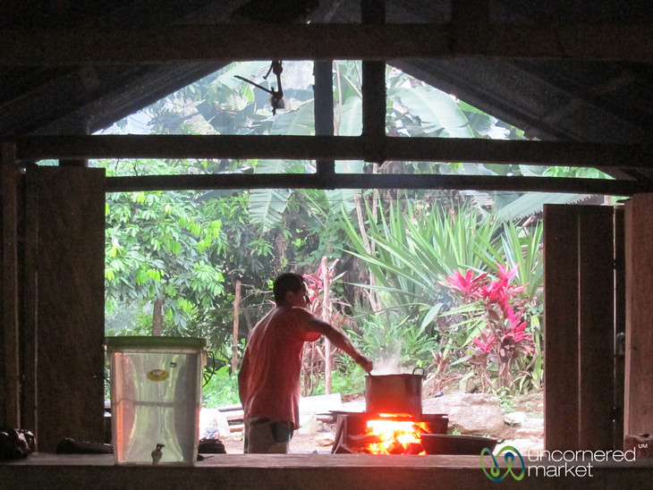Cooking along the Lost City Trek - Colombia