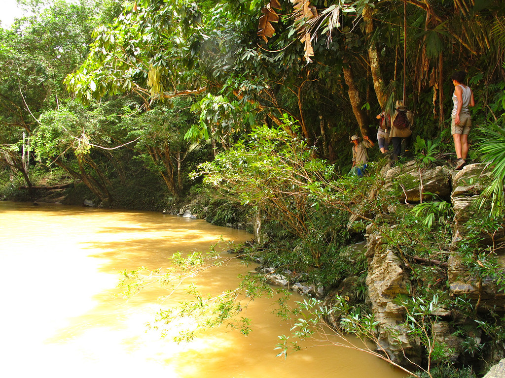 """The river For the story, check out: <a href=""""http://www.nomadbiba.com/wp/2011/06/maceo-searching-for-climbing-off-the-beaten-path/""""> Maceo – Searching For Climbing Off The Beaten Path</a>"""