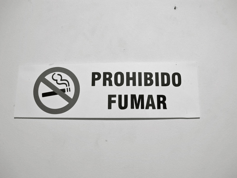 No smoking allowed at Hostal Medellin