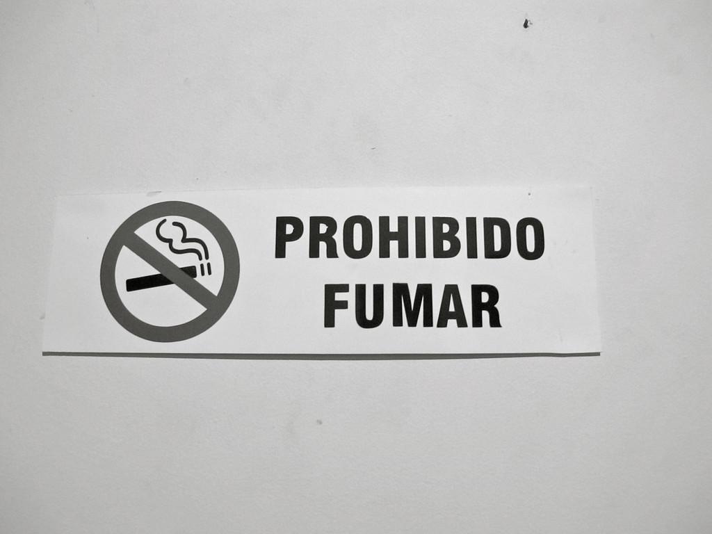 No smoking allowed at Hostal Medellin
