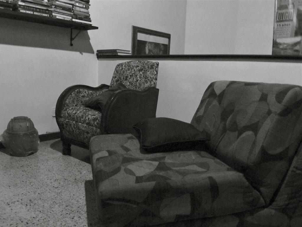 TV room at Hostal Medellin