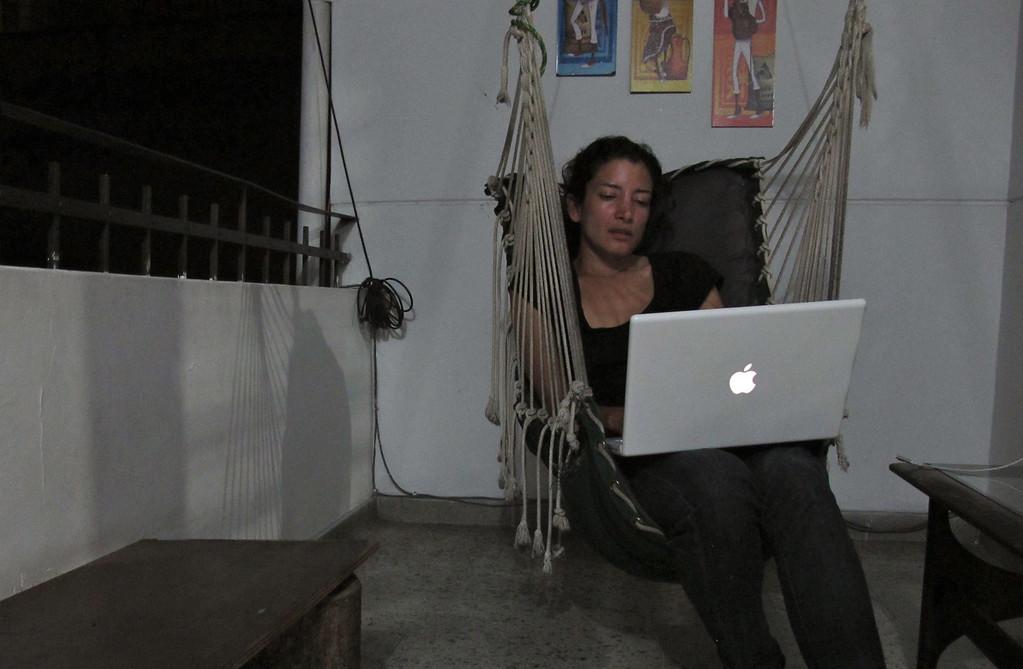 Working at Hostal Medellin