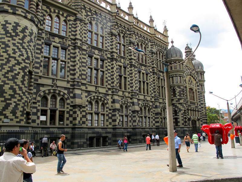 Palacio de la Cultura in Medellin (Antioquia), Colombia