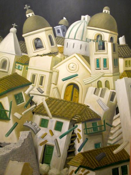 Terremoto en Popayán, Museo Botero de Bogota