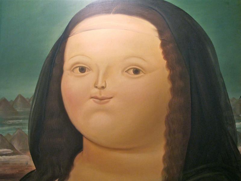 Mona Lisa<br /> Museo Botero de Bogota