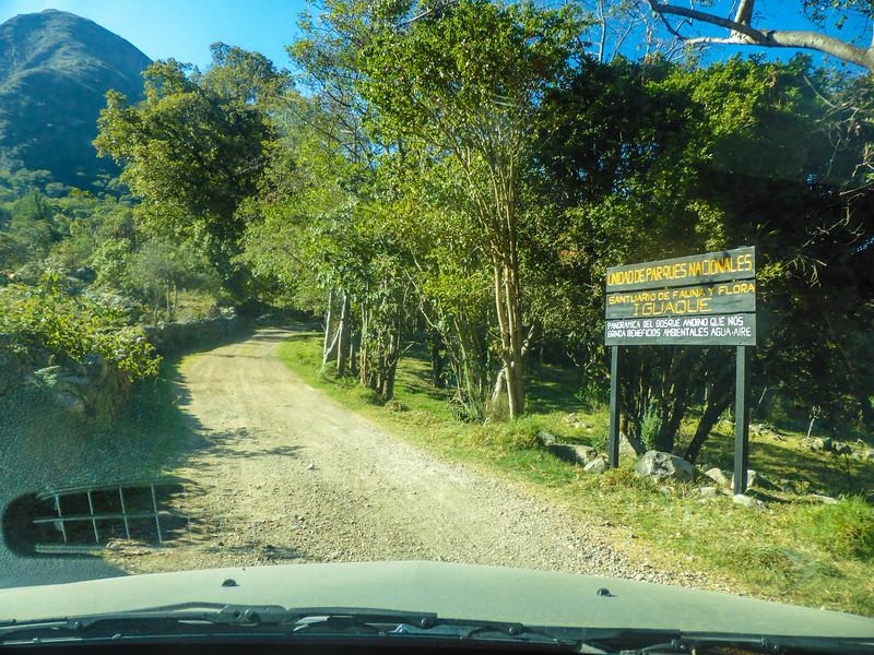 On the way to Santuario de Flora y Fauna Iguaque, Colombia