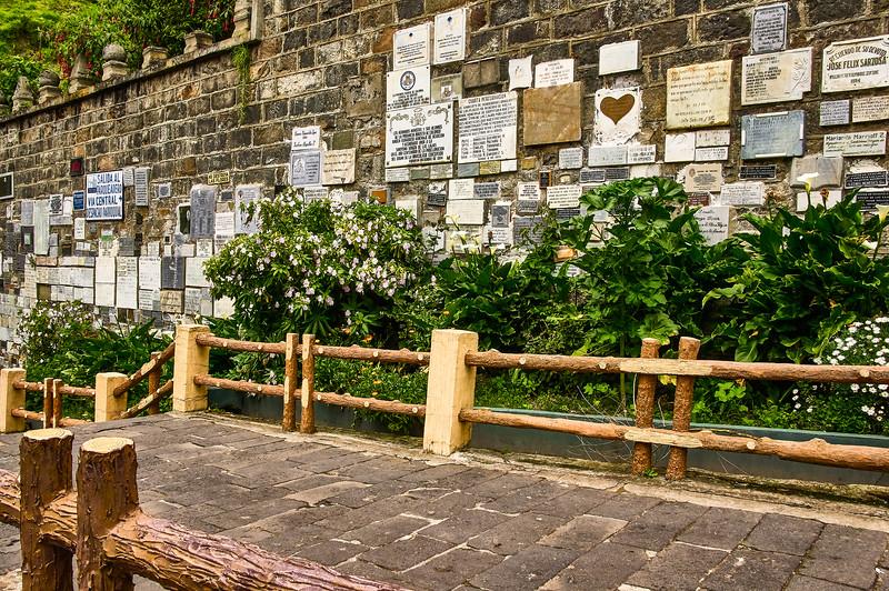 Entrance to the Santuario de las Lajas in Colombia