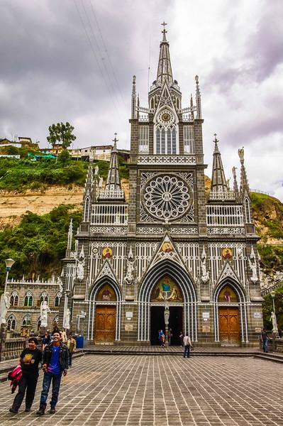 Santuario de las Lajas in Colombia