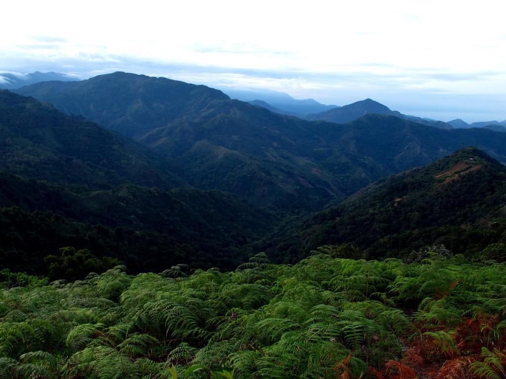 Sierra Nevada de Santa Marta in Colombia