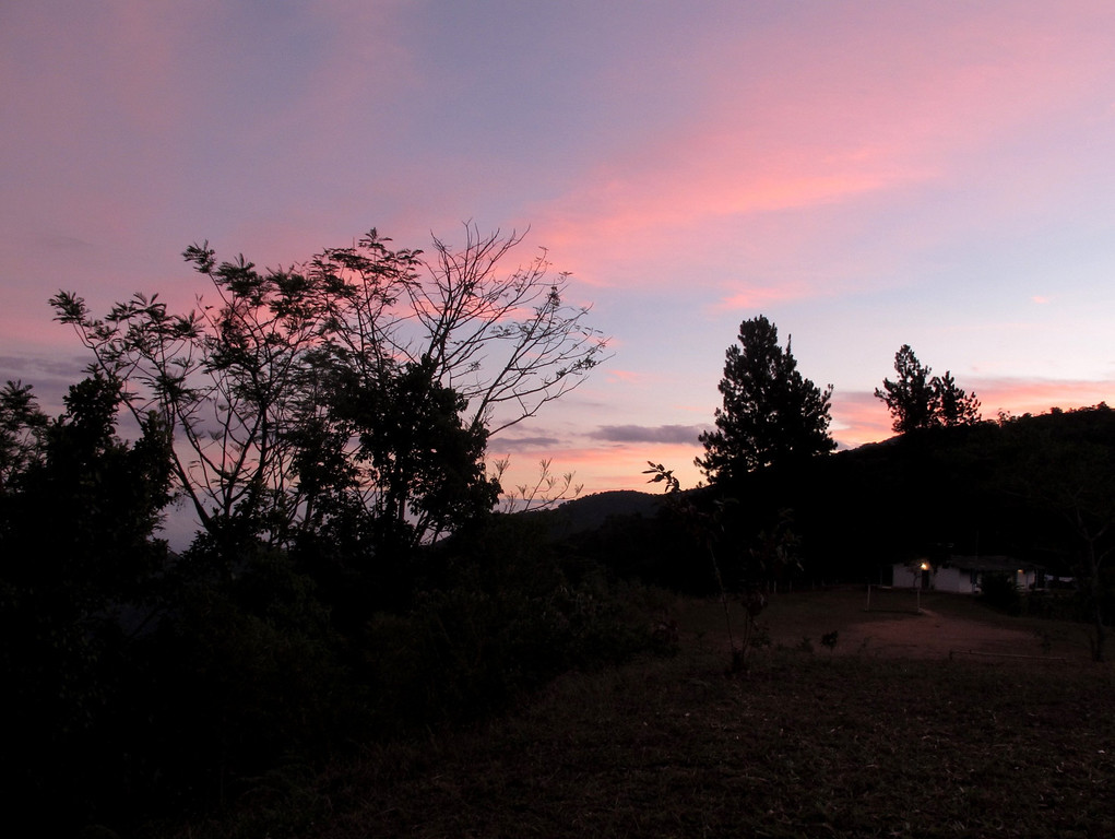 Sunrise at Sierra Nevada, Colombia