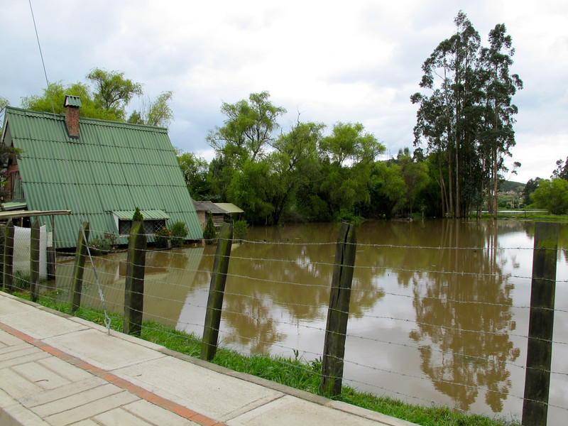 """Floods near Suesca, Colombia For the full story check out my blog post <a href=""""http://www.nomadbiba.com/wp/2011/05/suesca-my-new-base-in-colombia//"""">Suesca – My New Base in Colombia</a>"""