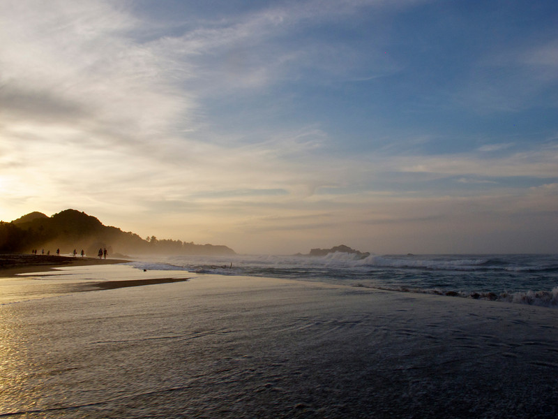 """Sunset in Tayrona National Park (Colombia) For the story, check out my post: <a href=""""http://www.nomadbiba.com/wp/2011/09/tayrona-national-park-saving-the-best-for-last/""""> Tayrona National Park – Saving The Best For Last</a>"""