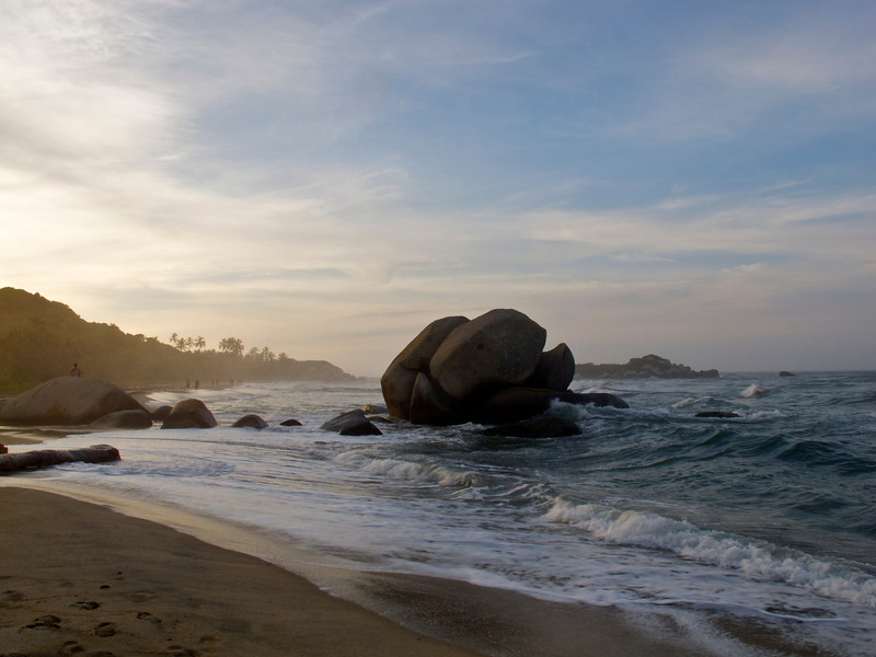 """Boulders in Tayrona National Park (Colombia) For the story, check out my post: <a href=""""http://www.nomadbiba.com/wp/2011/09/tayrona-national-park-saving-the-best-for-last/""""> Tayrona National Park – Saving The Best For Last</a>"""