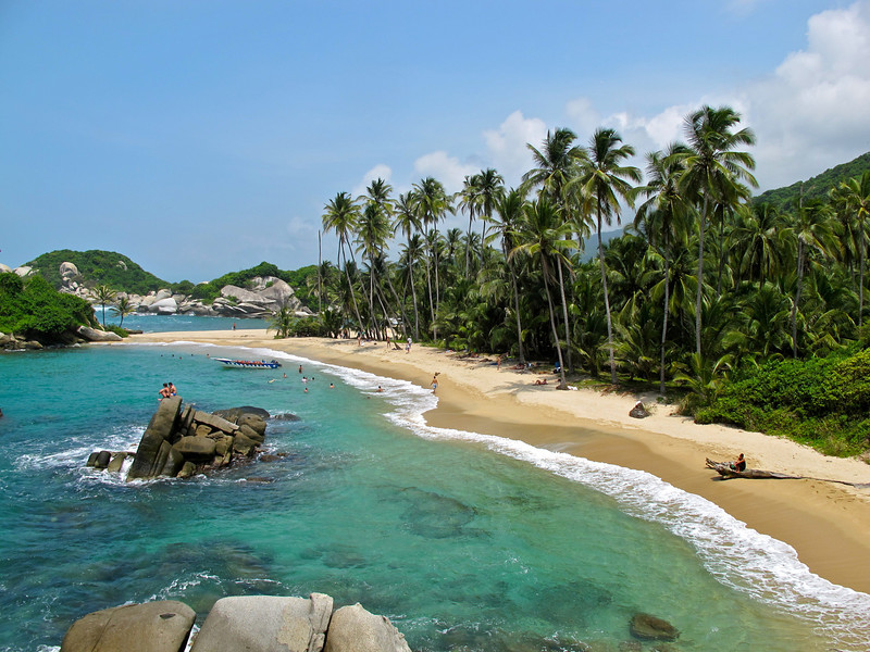 """Tayrona National Park (Colombia) For the story, check out my post: <a href=""""http://www.nomadbiba.com/wp/2011/09/tayrona-national-park-saving-the-best-for-last/""""> Tayrona National Park – Saving The Best For Last</a>"""