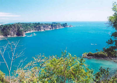Lookout over Manuel Antonio