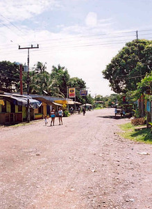 Cahuita 'high street'