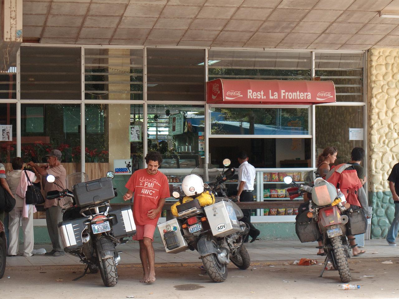 Costa Rica Border