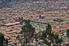 Cusco, Peru city view from overlook