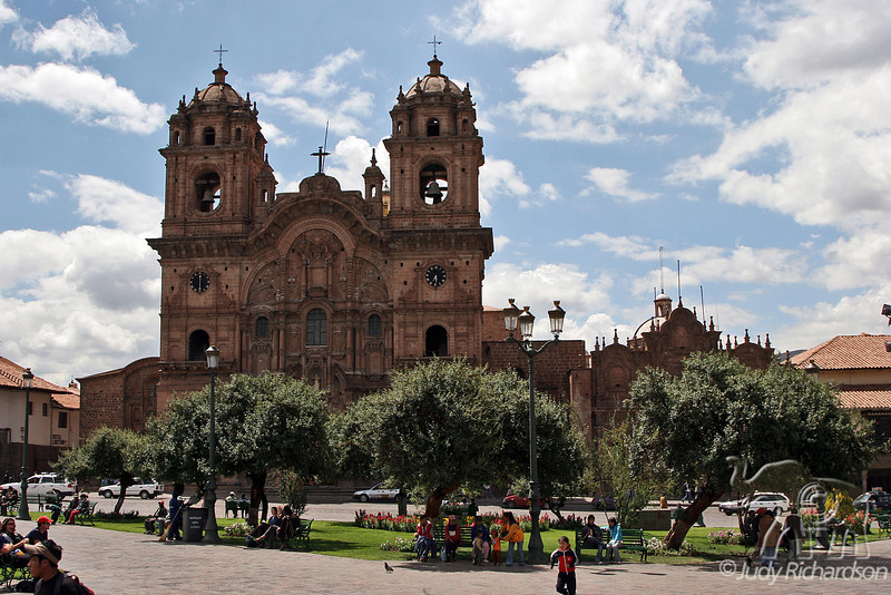 Church of La Compañía~Cusco