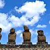 The moai at Ahu Tahai